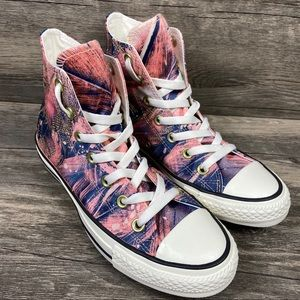 Converse Chuck Taylor All Star Hi Feather Print 7